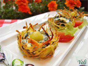 Снимка 2 от рецепта за Картофени гнезда на Йоланта