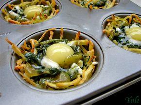 Снимка 3 от рецепта за Картофени гнезда на Йоланта