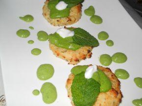 Снимка 3 от рецепта за Картофени крекери със спаначен мус