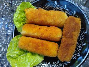 Снимка 3 от рецепта за Картофени крокети с шунка