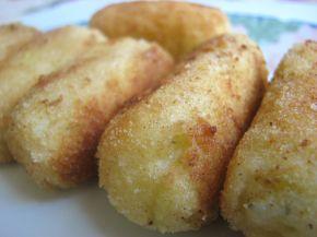 Снимка 1 от рецепта за Картофени крокети със сирене