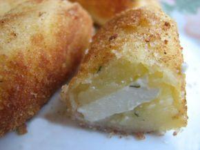 Снимка 2 от рецепта за Картофени крокети със сирене