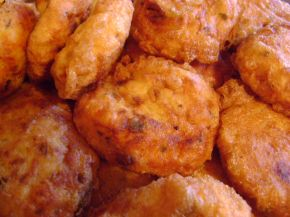 Снимка 4 от рецепта за Картофени кюфтета с кашкавал