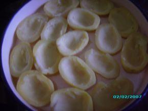 Снимка 2 от рецепта за Картофени лодки с млечна плънка