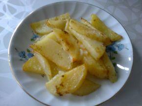 Снимка 3 от рецепта за Картофени  пръчици  на  фурна