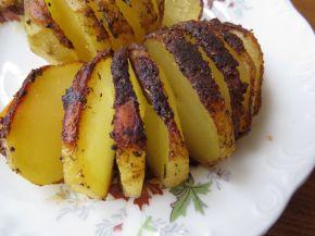 Снимка 7 от рецепта за Картофени спирали на фурна