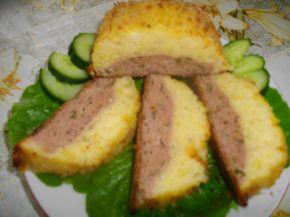 Снимка 8 от рецепта за Картофено руло с кайма