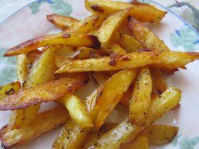 Снимка 1 от рецепта за Картофи на фурна с подправки