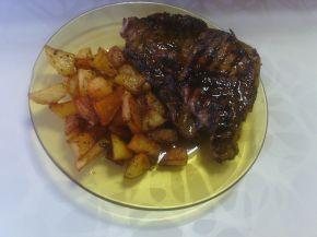 Снимка 9 от рецепта за Картофи соте с копър и чесън