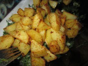 Снимка 4 от рецепта за Картофи соте с копър и чесън