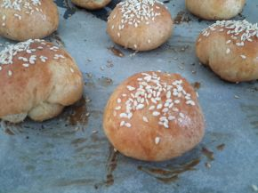 Снимка 2 от рецепта за Кашкавалки със сусам