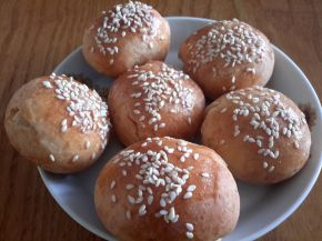 Снимка 3 от рецепта за Кашкавалки със сусам
