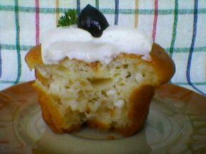 Снимка 2 от рецепта за Кейкчета със сирене и млечен крем