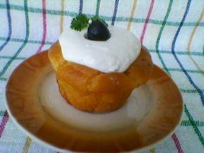 Снимка 4 от рецепта за Кейкчета със сирене и млечен крем