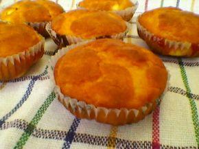 Снимка 7 от рецепта за Кейкчета със сирене и млечен крем