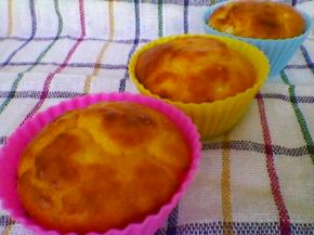 Снимка 9 от рецепта за Кейкчета със сирене и млечен крем