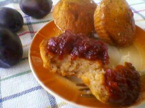 Снимка 2 от рецепта за Кейкчета със сладко от сливи
