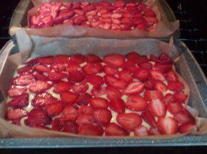 Снимка 4 от рецепта за Кекс, покрит с ягоди