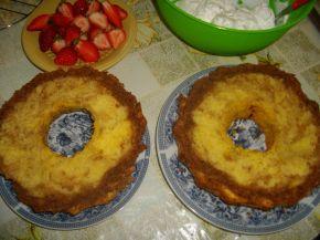 Снимка 2 от рецепта за Кекс с ягоди