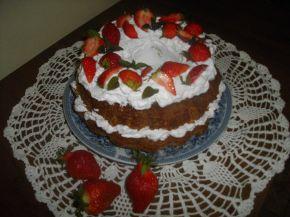 Снимка 3 от рецепта за Кекс с ягоди