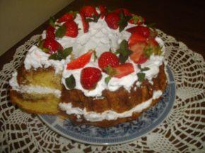 Снимка 4 от рецепта за Кекс с ягоди