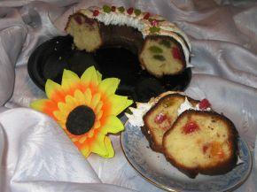 Снимка 2 от рецепта за Кекс с локум `Асорти`