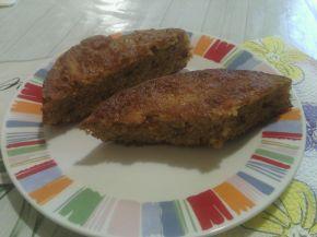 Снимка 4 от рецепта за Кекс с моркови и орехи с коледни мотиви