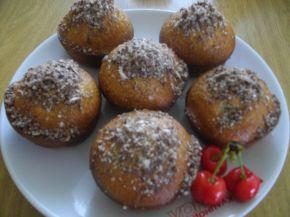 Снимка 2 от рецепта за Кексчета с череши