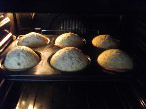 Снимка 5 от рецепта за Кексчета с череши