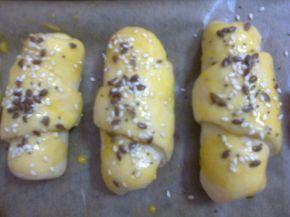 Снимка 3 от рецепта за Кифли с кайма, маслини и кашкавал