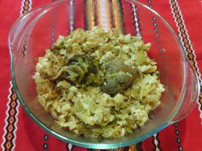 Снимка 3 от рецепта за Кисело зеле с ориз на фурна