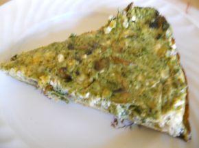 Снимка 3 от рецепта за Киш със спанак и гъби