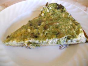 Снимка 4 от рецепта за Киш със спанак и гъби