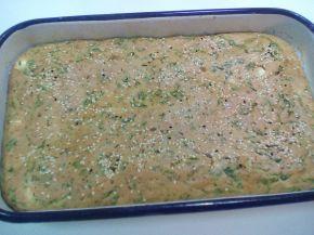 Снимка 5 от рецепта за Киш със спанак и гъби