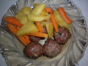Снимка 6 от рецепта за Кюфтенца с картофи на фурна