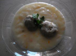 Снимка 3 от рецепта за Кюфтенца с бял сос