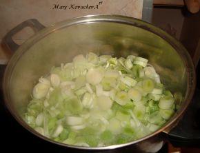 Снимка 2 от рецепта за Кюфтета от праз