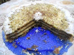 Снимка 11 от рецепта за Кокосова домашна торта