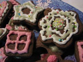 Снимка 5 от рецепта за Коледни сладки с какао