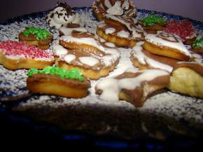 Снимка 3 от рецепта за Коледни сладки със захарна глазура