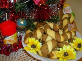 Снимка 2 от рецепта за Коледни  бастуни