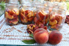 Снимка 4 от рецепта за Компот от праскови
