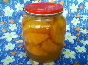 Снимка 6 от рецепта за Компот от праскови