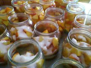Снимка 7 от рецепта за Компот от праскови