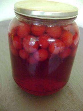 Снимка 2 от рецепта за Компот от вишни