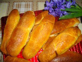 Снимка 2 от рецепта за Козуначени кифли от тефтера на баба