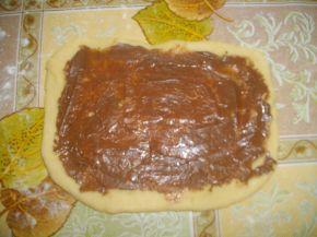 Снимка 5 от рецепта за Козуначени кифли от тефтера на баба