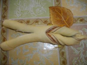 Снимка 8 от рецепта за Козуначени кифли от тефтера на баба