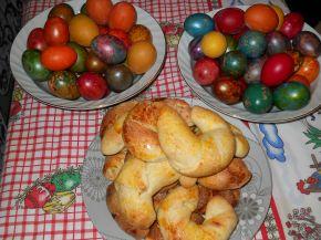 Снимка 7 от рецепта за Кузуначени кифлички с плънка от мармалад, стафиди и орехи
