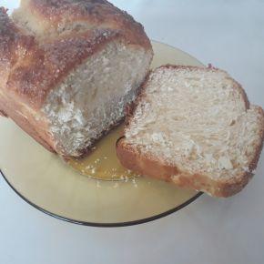 Снимка 3 от рецепта за Козунак без яйца